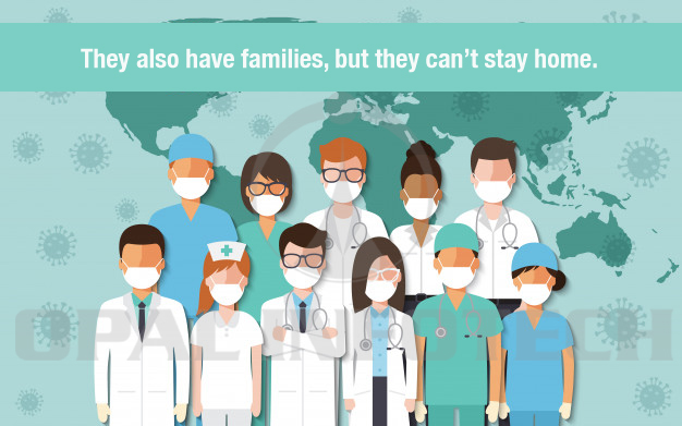 Healthcare Workers Cannot Stay Home